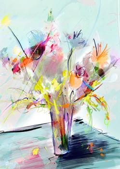 Annemiek Punt Glaskunst Schilderkunst www.kunst-punt.nl