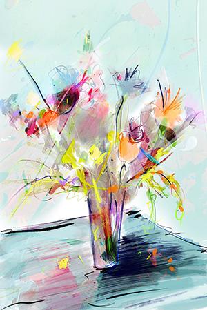 Voor Jou | Giclée Schilderkunst | Atelier Galerie Annemiek Punt