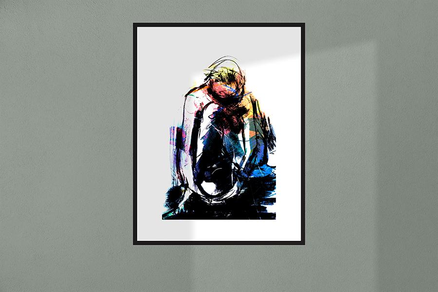 Stilte | Giclée Schilderkunst | Atelier Galerie Annemiek Punt