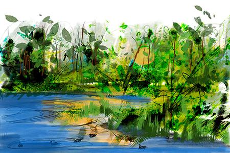 De Bron | Giclée Schilderkunst | Atelier Galerie Annemiek Punt