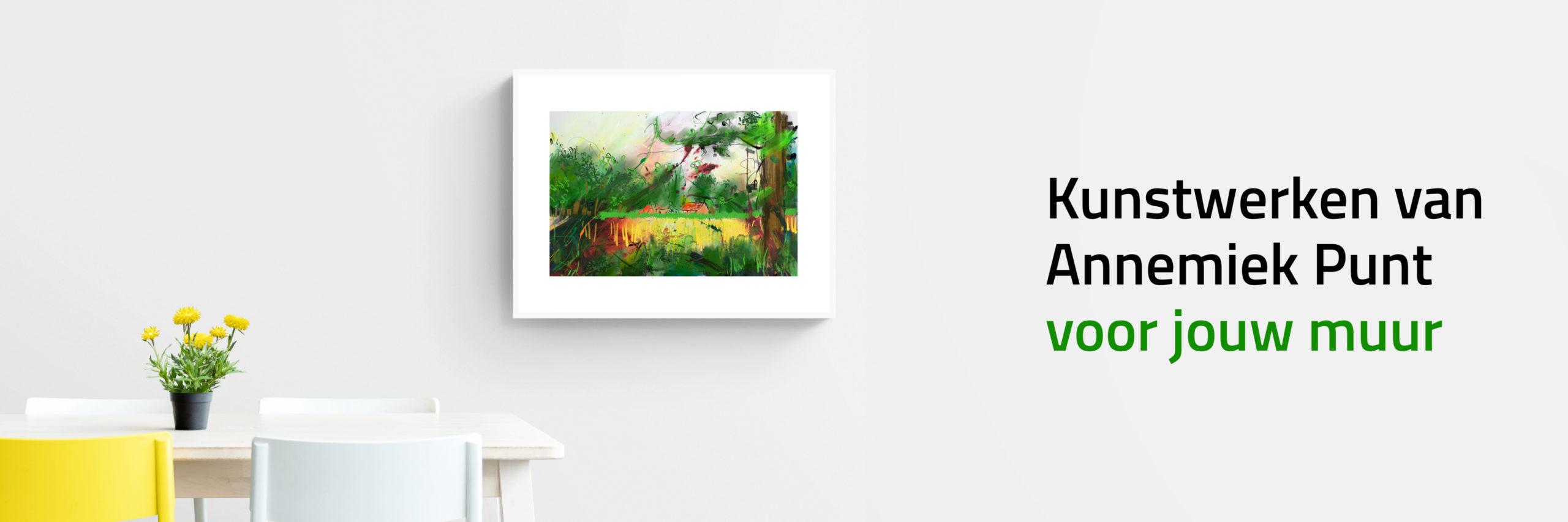 Banner Twents Landschap | Giclée Schilderkunst | Atelier Galerie Annemiek Punt
