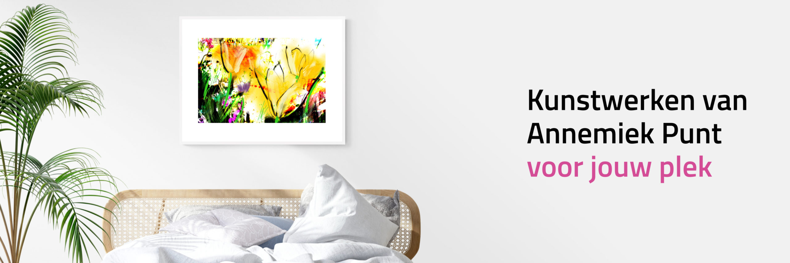 Banner Zomerzon | Giclée Schilderkunst | Atelier Galerie Annemiek Punt